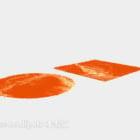 السجاد البرتقالي