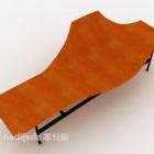 طاولة برتقال خشبية
