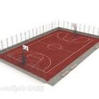 Boisko do koszykówki na świeżym powietrzu V1