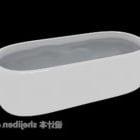 Ceramika do kąpieli owalnej