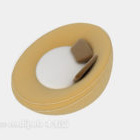 Canapé paresseux ovale