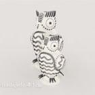 Owl Sculpture Decoration