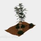 شجرة نبات زهرة الحديقة