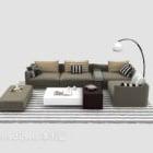 Nowoczesna sofa w stylu duszpasterskim