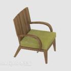 كرسي صالة النمط الرعوي البسيط