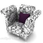 Mønstret sofamøbler