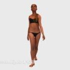 Character Bikini Beach Girl