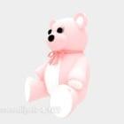 Pink Doll Bear Stuff Toy