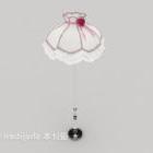 Pink Warm Floor Lamp