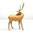 Luumu Deer veistos