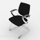 Chaise de bureau pratique noire