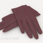 Decorazione guanti viola