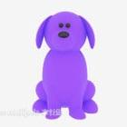 Mainan Anak Anjing Ungu