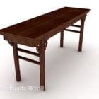 Qing Dynasty Desk Trä