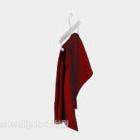 赤い服のファッション