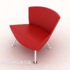 Czerwone krzesło wspólne