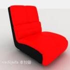 Meubles de canapé paresseux rouge