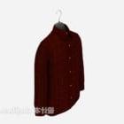 赤い長袖ファッション