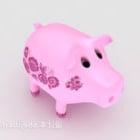 Piggy Bank Merah