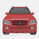 عربة حمراء للسيارات
