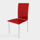 Red Back-up Lounge Chair V1