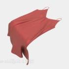 レッドスリングスカートファッション