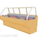 Frigorifero congelatore per supermercato V1