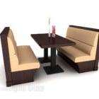 Restaurant Sofa Tisch und Stühle