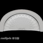 Membro europeo semicircolare
