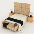 Axelband Minimalist Säng Med Möbler