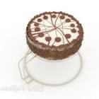 Simple Cake Chocolate Milk