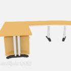 بسيطة شركة مكتب خشبي يمول