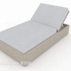 Décoration de canapé paresseux simple