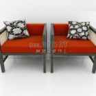 Simple And Warm Chinese Sofa