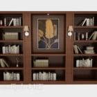 Simple Atmospheric Bookcase