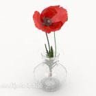 Artisanat de vase à fleurs simple