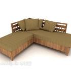 Simple Idyllic Style Sofa