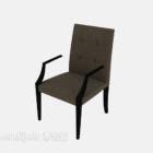 Kerusi Tunggal Sederhana Dengan Lengan