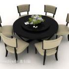 Decorazioni da tavola semplici per sei persone
