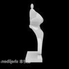 Abstrakt figur Enkel styling