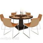 Tavolo moderno per sei persone