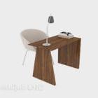 Kleiner Schreibtisch aus Holz mit Chải