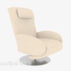 Chaise de bureau canapé couleur beige