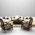 Set Perabot Sofa unta