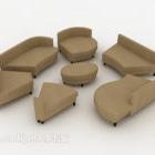 Combinazione di divani di gruppo