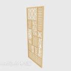 Panel z litego drewna