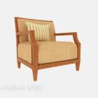 Sedia relax in legno massello