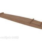 Guzheng آلة موسيقية خشبية