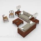 Southeast Asia Sofa Wooden Furniture