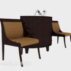 Southeast Asia Armrest Sofa